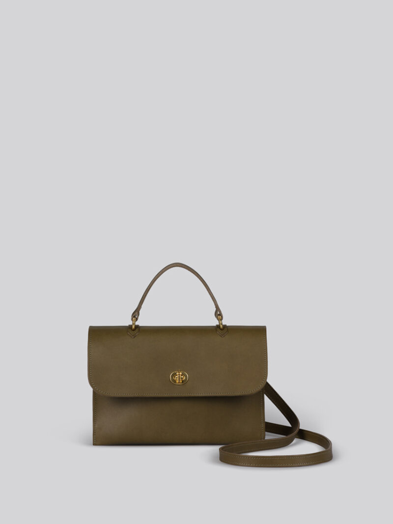 Hebe olive front
